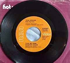 take me home, country roads / poems, prayers and promises 45 rpm single