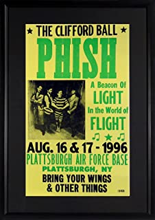 """Phish """"The Clifford Ball"""" Concert Poster (Framed)"""