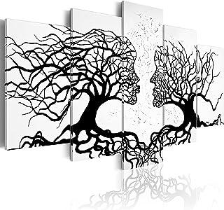 murando - Cuadro en Lienzo 200x100 Impresión de 5 Piezas Material Tejido no Tejido Impresión Artística Imagen Gráfica Deco...