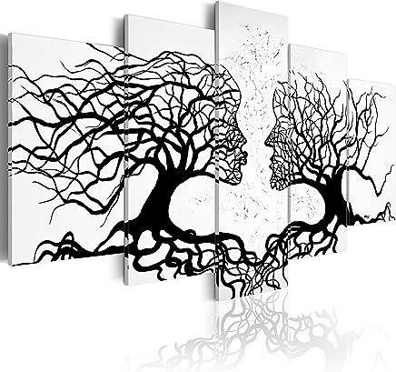 murando - Cuadro 200x100 - impresión de 5 Piezas en Material Tejido no Tejido - impresión artística - fotografía - Imagen gráfica - decoración de Pared - Abstracto a-A-0104-b-m