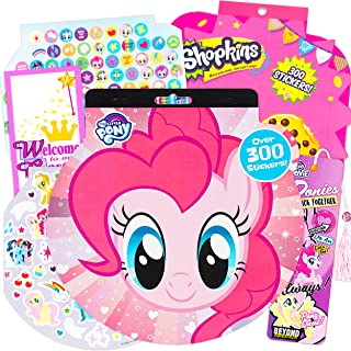 My Little Pony: The Movie - My Little Pony Stickers - Over 295 Stickers Bundled with Specialty Door Hanger