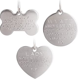 dog tags that don't wear off