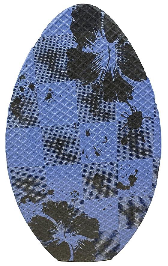 発掘する法王非難するゴム表面木製スキムボード 滑り止めグリップ ワックス不要