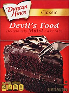 Duncan Hines Classic Cake Mix, Devils Food, 15.25 oz