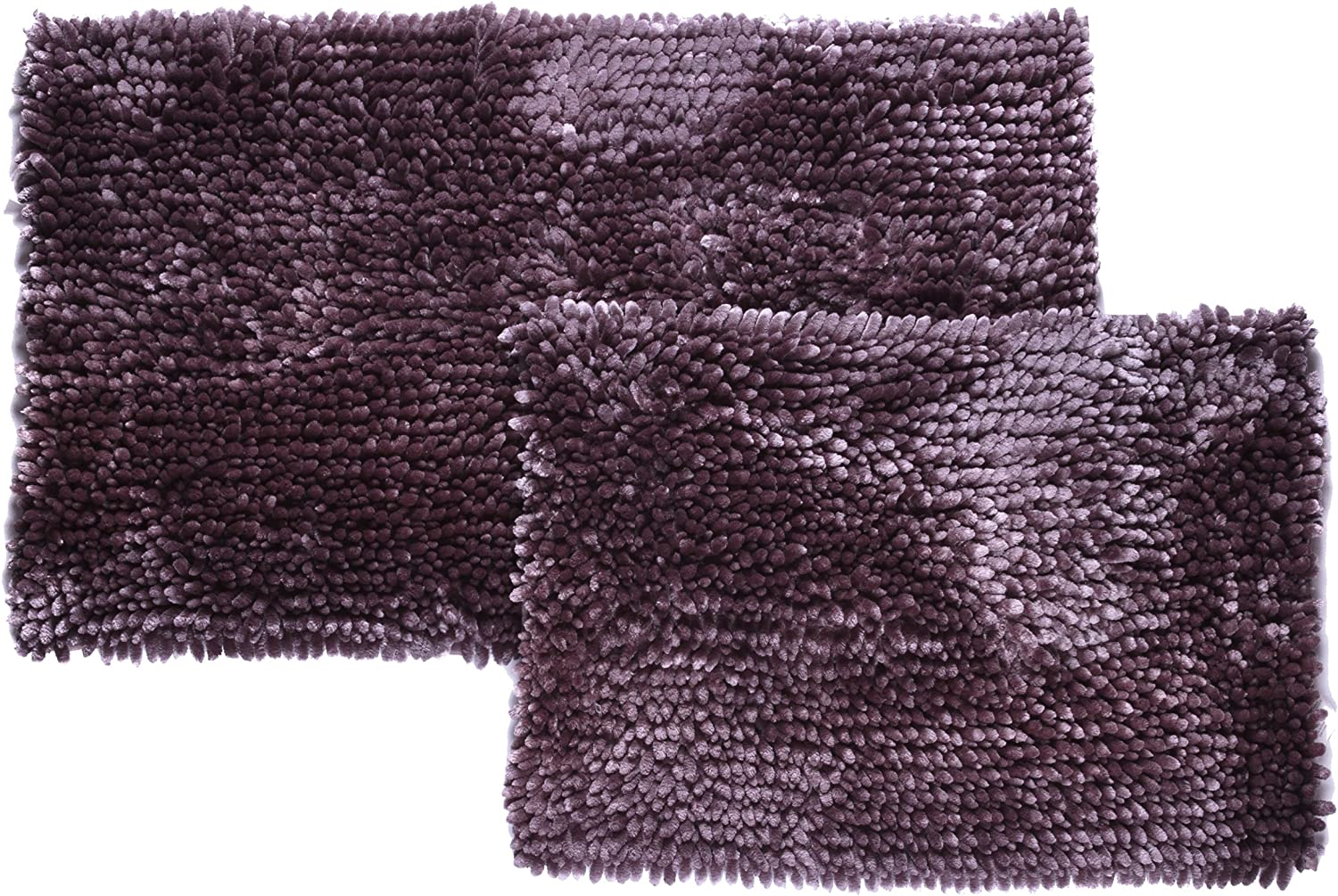 Popular Bath Rugs Now on sale Mante Chenille Super-cheap Collection Set 2-Piece