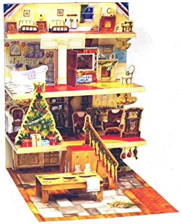 3D Popup Advent Calendar - The Night Before Christmas