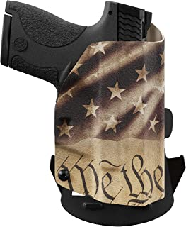 We The People - Constitution - Outside Waistband Concealed Carry - OWB Kydex Holster - Adjustable Ride/Cant/Retention