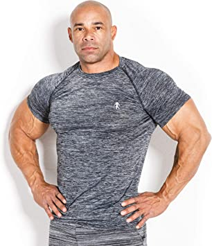 KEVIN LEVRONE - Camiseta de compresión, Talla S, Color Gris ...
