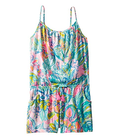 f1528f16d Lilly Pulitzer Kids Womens Mini Calla Romper (Toddler Little Kids ...