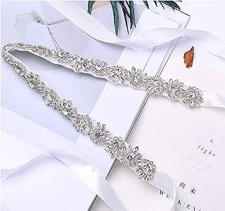 Fruit And Sun Women Handmade Beads Bridal belt Evening Belt with Rhinestones