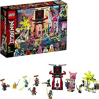 LEGO Ninjago - Mercado de Jugadores, Juguete de Construcción, Incluye 9 Minifiguras, Digi, Jay, Avatar Rosa de Zane y Avat...