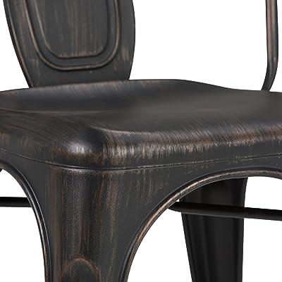 Amazon.com: Porthos Home ZFC019A-So2 BLK - Cojín de asiento ...
