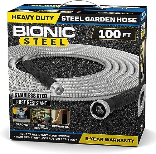 Bionic-Steel-100-Foot-Garden-Hose-304-Stainless-Steel-Metal-Water-Hose