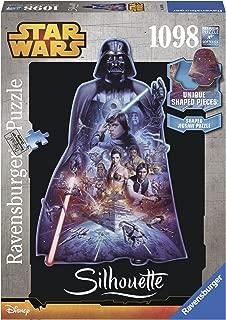 Ravensburger Star Wars, Darth Vader - Silhouette Jigsaw Puzzle (1098 Piece)