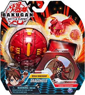 Bakugan Deka, Dragonoid, Jumbo Collectible Transforming Figure, for Ages 6 and Up