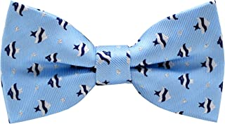Little Boy's Handmade Pre-Tied Patterned Bow Ties For Kids