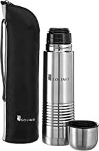 Amazon Brand - Solimo Thermal Stainless Steel Flask, 500 ml