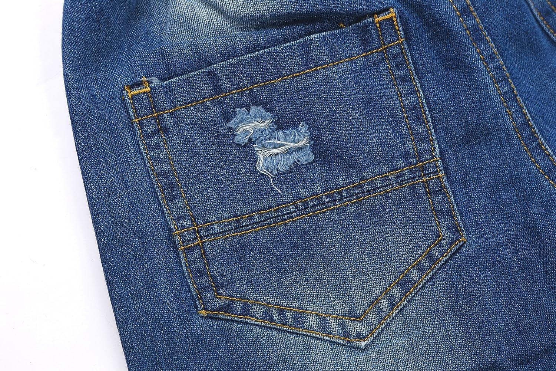 Encontrar Boys Blue Ripped Jeans Shorts 2T-8