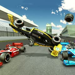 - High-end racing cars outrunning each other - Visual masterpiece with Brilliant HD graphics in a visually stunning 3D experience - True to life adrenaline rush of driving a professional formula race car - Simply tilt your phone left and right to sta...