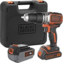 Black + Decker bl188dm2 K-qw taladro de percusión Brushless Sin fil-18 V-1,5 ah-2 Batteries