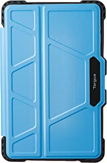 "Targus AU THZ75514GL Pro-Tek Rotating Case for Samsung Galaxy Tab A 10.5"" (2018), Light Blue"