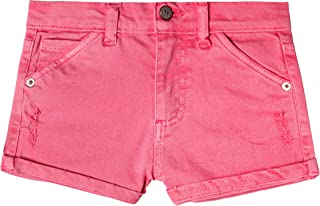 art & eden Girl's Organic Cotton Denim Shorts