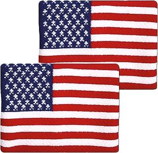 Unique Sports Flag Wristbands, American Flag sweatbands, USA