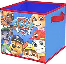RA-HOMESTORE New Fun Eye Catching Paw Patrol Chase Set of 4 Fabric Storage Cubes