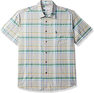 US Polo Association Men's Checkered Regular fit Casual Shirt