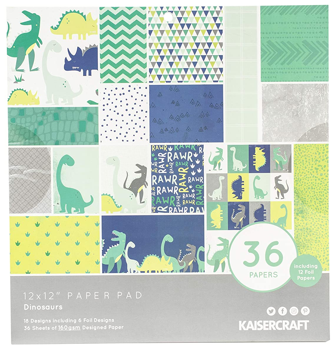 Kaisercraft PP256 Specialty Paper Pad 12