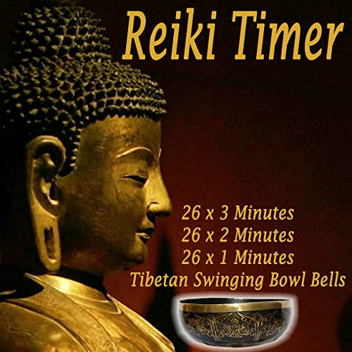 Reiki Timer  Minute Tibetan Singing Bowl Bell In A Silence Background