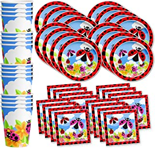 Best bug birthday party plates Reviews