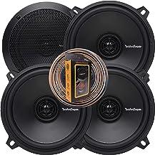 """$84 » 2 Pairs of Rockford Fosgate Prime R1525X2 160W Peak (80W RMS) 5-1/4"""" 2-Way Prime Series Coaxial Car Speakers - 4 Speakers ..."""