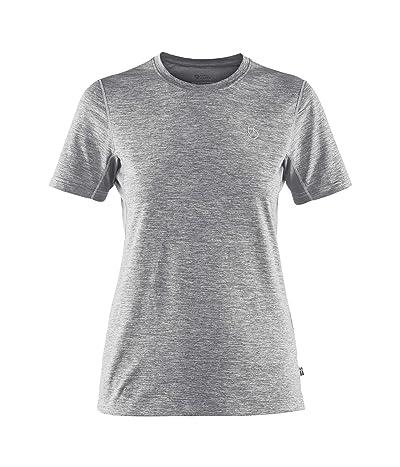 Fjallraven Abisko Mesh Short Sleeve (Shark Grey) Women