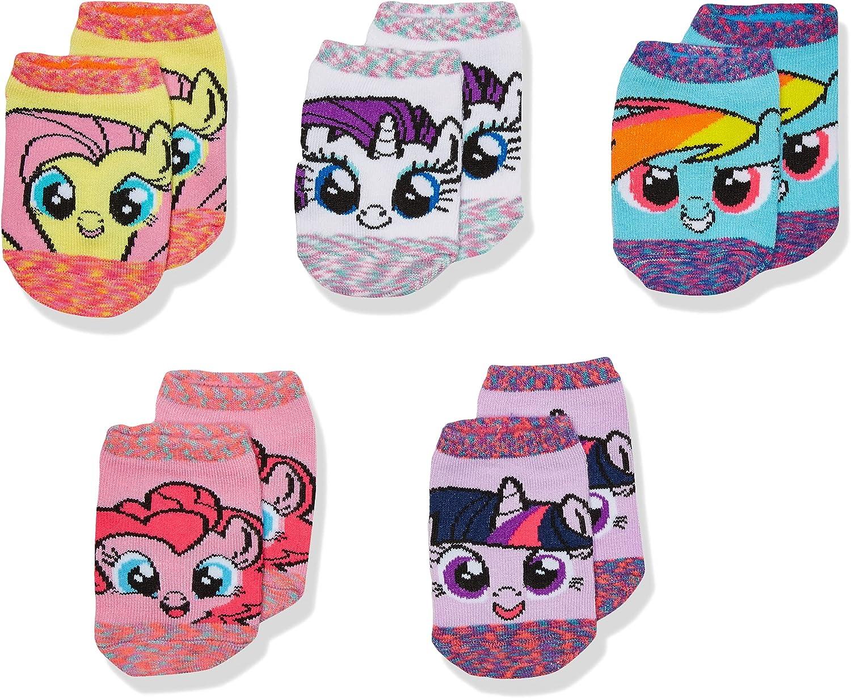My Little Pony girls My Little Pony 5 Pack No Show Socks