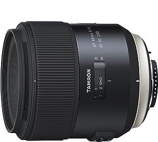 Tamron SP - Objetivo para Nikon DSLR (distancia focal fija 45 mm apertura f/1.8 Di VC USD diámetro filtro: 67 mm) negro