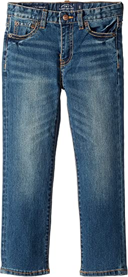 Lucky Brand Kids - Core Denim Medium Blue Skinny in Yorba Linda (Toddler)