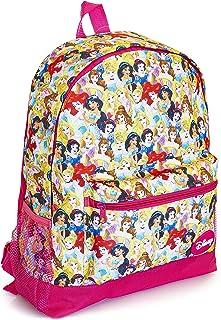 Mochila Escolar Para Niñas Con Princesas Disney Cenicienta, Jazmín, Rapunzel, La Sirenita Ariel, Blancanieves y Bella, Mochilas Para Colegio Viajes, Regalos Para Niñas Y Adolescentes