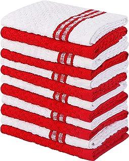 Utopia Towels Toallas de Cocina, 38 x 64 cm, 100% algodón Hilado en Anillo Toallas de Plato súper Suaves y absorbentes, To...