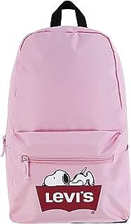 Levi's Kids' Big Logo Backpack, Pink Snoopy, O/S