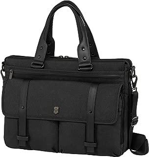Victorinox Architecture Urban Brunswick Laptop Briefcase, Black, One Size
