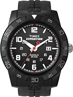 Timex Expedition 43 mm Men Core Analog Black Resin Strap Watch T49831