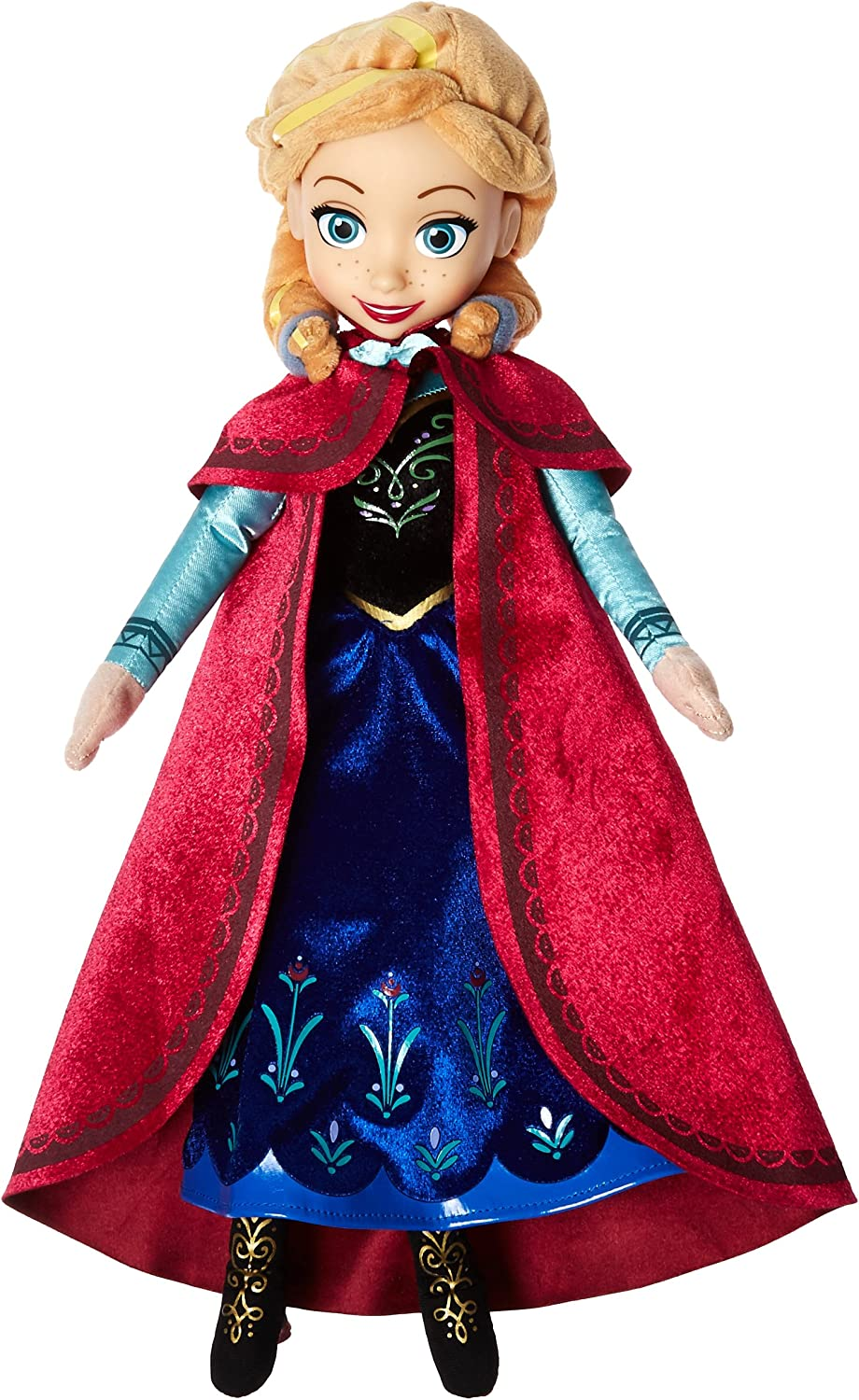 Disney Frozen Talking Anna Plush with Cape