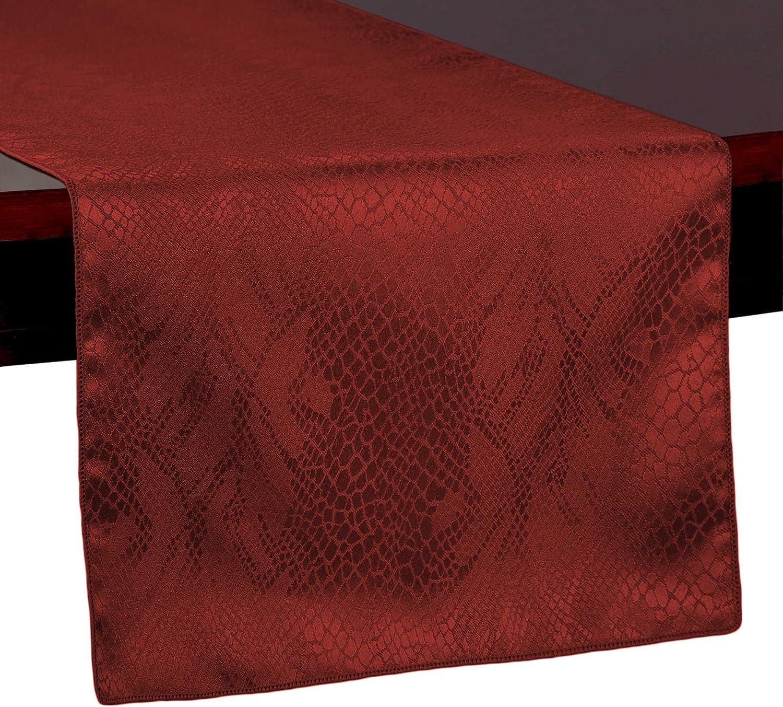 Ultimate Textile -3 Kansas City Mall Pack- Damask Popularity Kenya Table Runner 14 72-Inch x