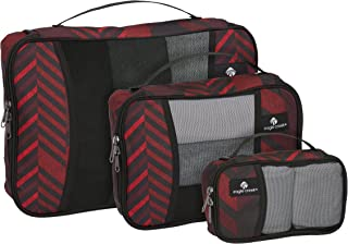 Eagle Creek Pack-it Original Cube Set-3pc St (XS, S, M), TRIBAL IRREGULARITY RED, One Size