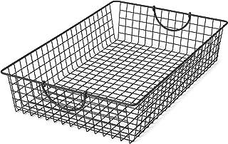 Gentil Spectrum Diversified Stowaway Basket, Under Bed Storage, Large, Industrial  Gray