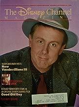 1988 - October 9 - November 20 - The Disney Channel Magazine - Harry Anderson Cover - New Vaudevillians III