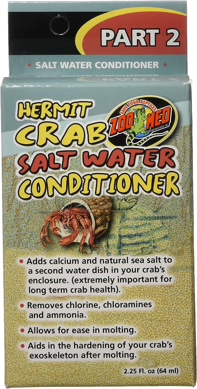 Zoo Med Hermit Mesa Mall Soldering Crab Salt Water Conditioner