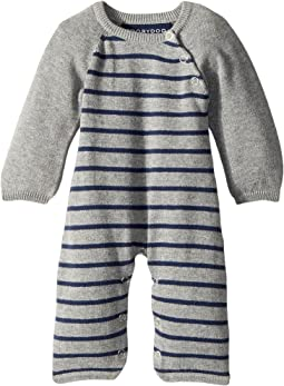 Toobydoo - Classic Stripe Jumpsuit (Infant)