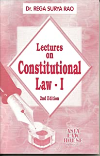Lectures on Constitutional Law - I